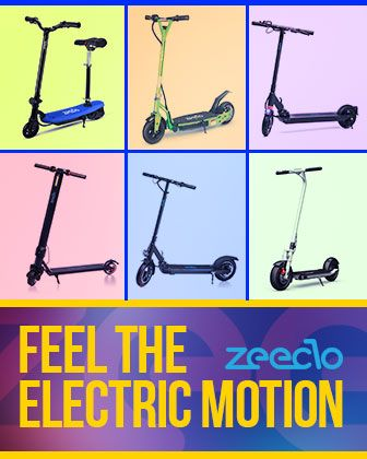 Patinetes eléctricos Zeeclo