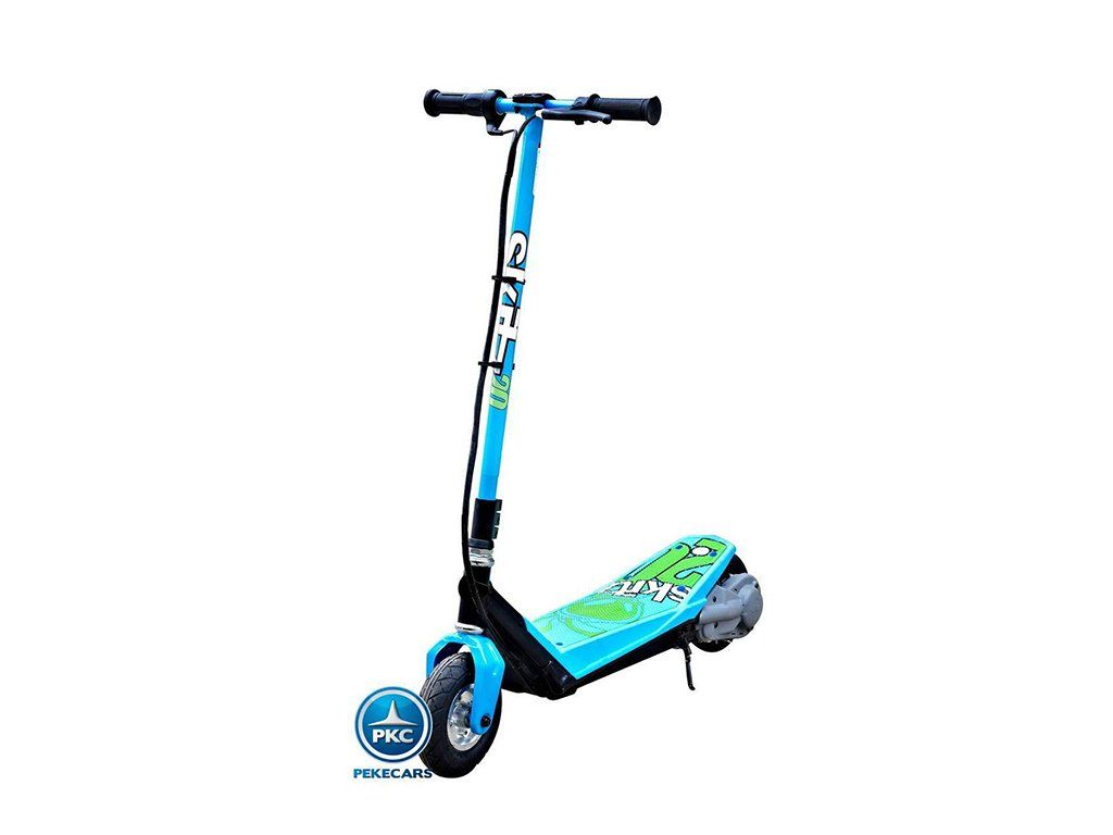 Patinete Electric Scooter 2 0 Goskitz Azul 200w