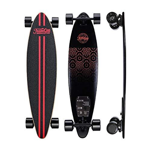Electric Cruiser Skateboard Longboard Motor Dual Con Control Remoto Ipatinete El 233 Ctrico