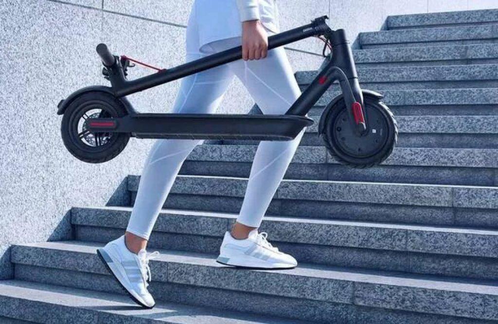 tamaño patinete Xiomi Mi S1