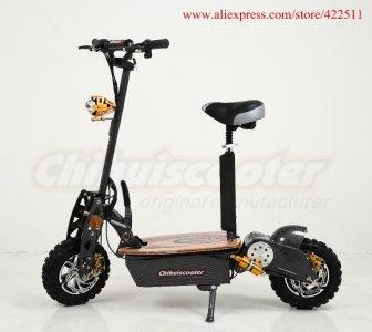 2000 nuevo 2016 W 60 V adulto plegable Scooter eléctrico de dos...