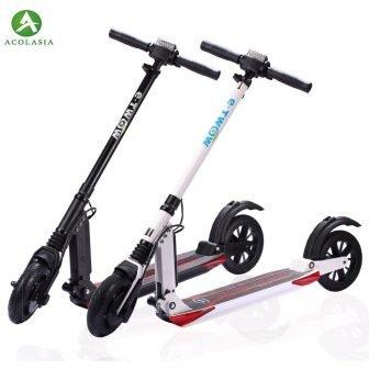 2018-Original y Twow S2 plegable Scooter Eléctrico Etwow adultos 2 ruedas Scooter...