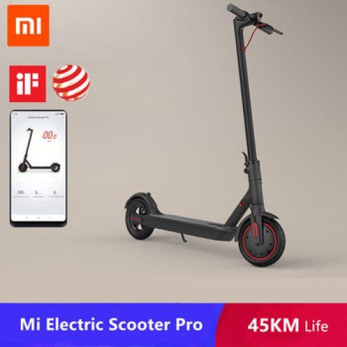 2019 Original xiaomi mi jia m365/Pro mi scooter eléctrico inteligente E Scooter monopatín rueda 2 Longboard mi ni plegable Hoverboard