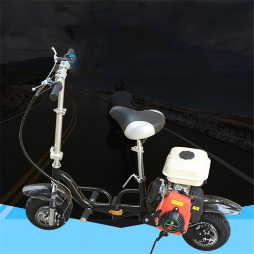 49cc cilindro único refrigerado por aire plegable combustible portátil gasolina motocicleta Scooter Motocross
