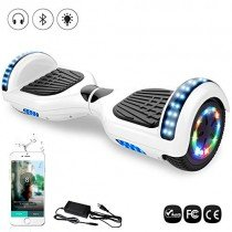 6.5″ Patinete Scooter Eléctrico Auto Equilibrio, Motor 700W con LED