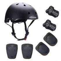 Kamugo equipo de protección ajustable para deportes para niños ajustable
