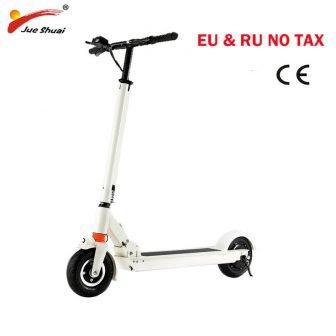 Scooter Eléctrico para mujer de 8 pulgadas con asiento de dos ruedas...
