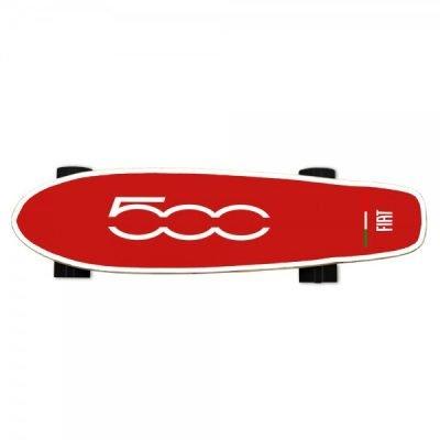 FIAT500 F500-S70R Skateboard rojo