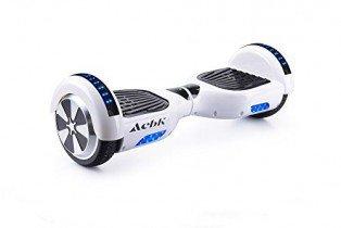 ACBK Hoverboard Patinete Eléctrico Autoequilibrio 6,5″ (Blanco)