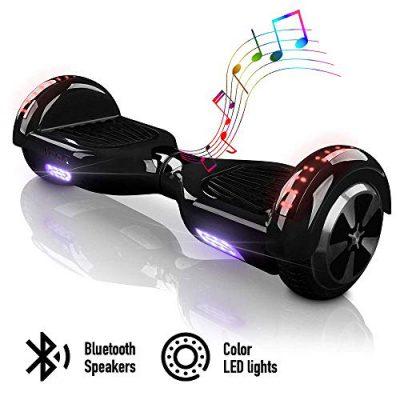 ACBK – Patinete Eléctrico Hover Autoequilibrio con Ruedas de 6.5″ – Bluetooth negro