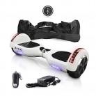 ACBK – Patinete Eléctrico Hover Autoequilibrio con Ruedas de 6.5″ – Bluetooth blanco
