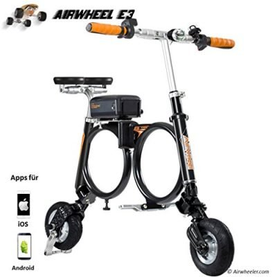 Airwheel Patinete eléctrico Plegable para Hombre E3