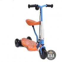 ATAA Triciclo Patinete eléctrico para niños Chick batería 6v – Rojo