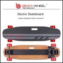 benchwheel mando a distancia eléctrico monopatín longboard