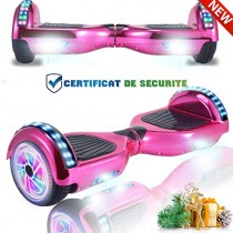 CHIC Hoverboard 6.5» Patinete Eléctrico Bluetooth Monopatín Scooter
