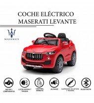 Coche eléctrico Maserati Levante
