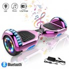 COLORWAY Hover Scooter Board 6.5 Pulgadas con Ruedas de LED rosa