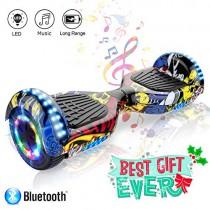 COLORWAY Patinete Eléctrico Auto Equilibrio Hover Scooter Board 6.5 Pulgadas hip hop