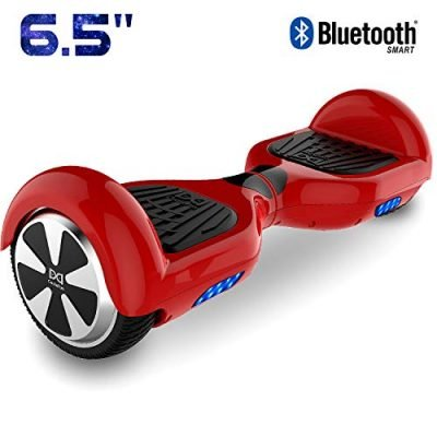 Cool&Fun 6.5″ Hoverboard Patinete Eléctrico Scooter Talla LED 350W*2 Red