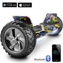 Cool&Fun 8.5″ Hoverboard Scooter Patinete Hummer SUV 700W Eléctrico Bluetooth