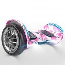 DHR Scooter eléctrico autobalanceado Smart Hoverboards 10 Pulgadas pink