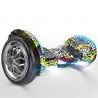 DHR Scooter eléctrico autobalanceado Smart Hoverboards 10 Pulgadas hip hop