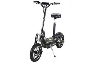 E-Scooter patinete original E-flux Vision 1000 Watt 36 V negro