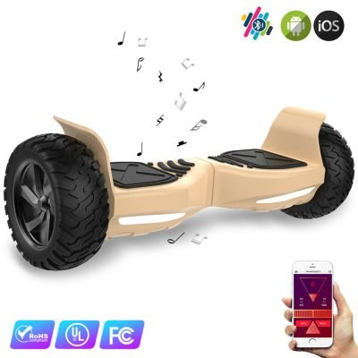 Evercross 8.5″ Hoverboard Patinete Eléctrico SUV Bluetooth