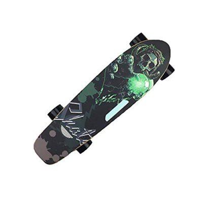 FATSW Personalidad Monopatín Eléctrico Skateboard Eléctrico con Control Remoto