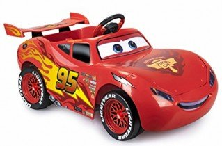 FEBER – Vehículo infantil CARS 3 Litghtning McQueen 6V