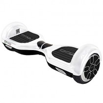FIAT500 F500-H65W/Wh Hoverboard, Adultos Unisex, Blanco, Talla Única