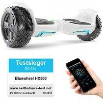 Ganador Test* 8.5″ Hoverboard Bluewheel HX500 con UL2272