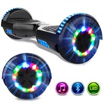 GeekMe Hoverboards 6.5 » Self Balance Scooter Las Ruedas LED Luces negro