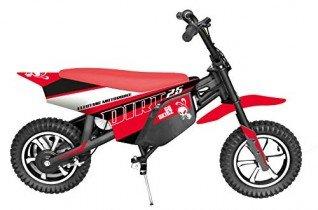 GoSkitz Dirt 25 Moto Eléctrica para Niños Color Rojo Intventia