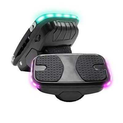 Hiboy Hovershoes-01 Patinete autoequilibrio con Led, Drifting Board