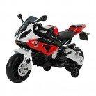 Homcom Coche Correpasillos Niños 3-8 años Moto Eléctrica