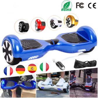 Hoverboard 6,5 Pulgadas Patinete Electrico Hoverboard eléctricos Scooter Eléctrico Patin eléctrico por...
