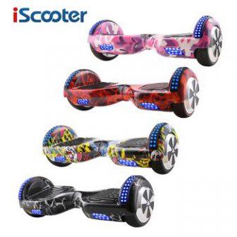Icooter Hoverboard 6,5 pulgadas Bluetooth y llave remota dos ruedas auto equilibrio...