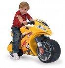 INJUSA-194 Hello Kitty Moto Correpasillos Winner, Color Amarillo