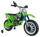 INJUSA – Moto de Cross Kawasaki a batería 6V