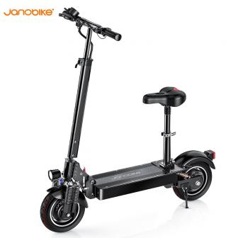 Janobike 2020 Actualización de freno hidráulico scooter Eléctrico pura aleación de aluminio...