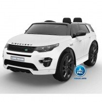 Land Rover Discovery MP4 12V 2.4G Blanco
