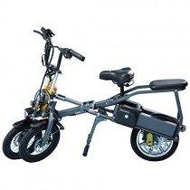 LANKELEISI JX003 B1STD – Patinete de bicicleta triciclo