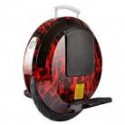 LHY RIDING Coche de Equilibrio de Monociclo eléctrico de 14 Pulgadas rojo