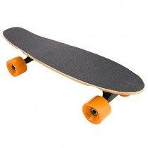 Lonlier Monopatín Eléctrico Penny Skateboard Longboard naranja