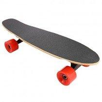 Lonlier Monopatín Eléctrico Penny Skateboard Longboard rojo
