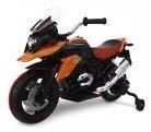 Moto de carreras para niños Flower eléctrica 12V con luces LED