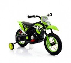 Motocicleta eléctrica infantil MOTO CROSS BABY ruedas inflables