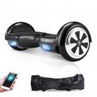 M MEGAWHEELS Scooter-Patinete Eléctrico Hoverboard, 6.5 Pulgadas con Bluetooth black
