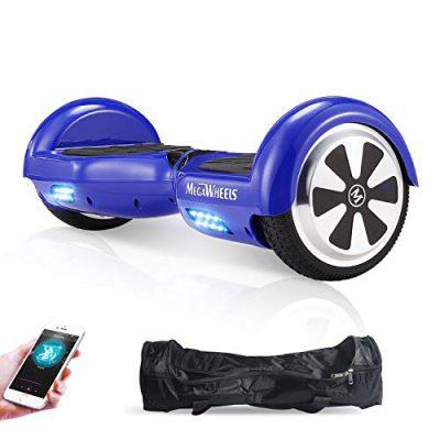 M MEGAWHEELS Scooter-Patinete Eléctrico Hoverboard, 6.5 Pulgadas con Bluetooth
